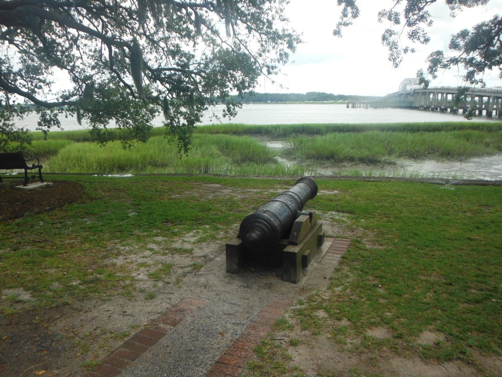 Stephen Elliott Park -Cannon Park: 600 Bay St, Beaufort, SC