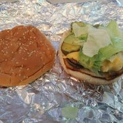 P O Of Five Guys Deptford Nj United States Little Cheeseburger With Lettuce