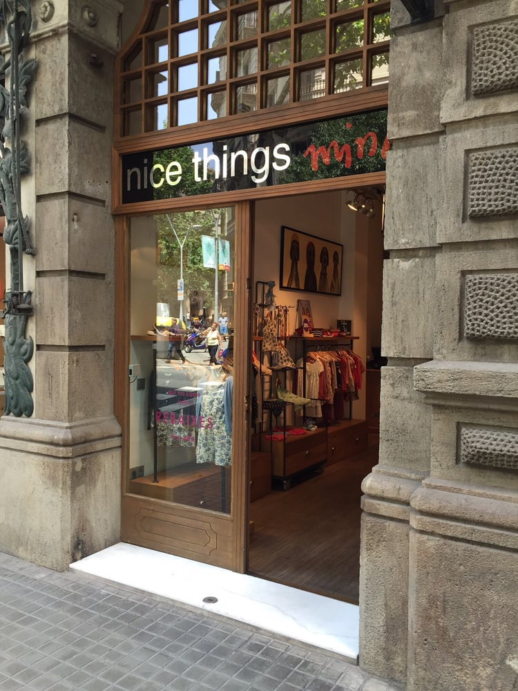 Nice things mini kindermode carrer val ncia 254 l - Nice things valencia ...