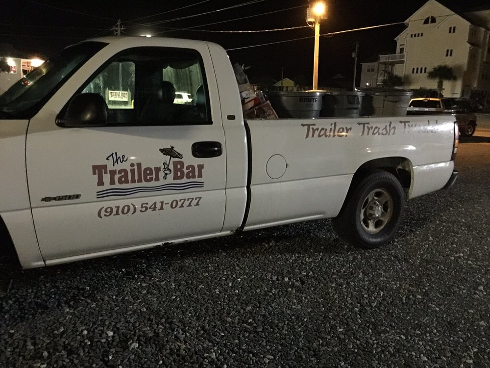 The Trailer Bar: 1701 N New River Dr, Surf City, NC