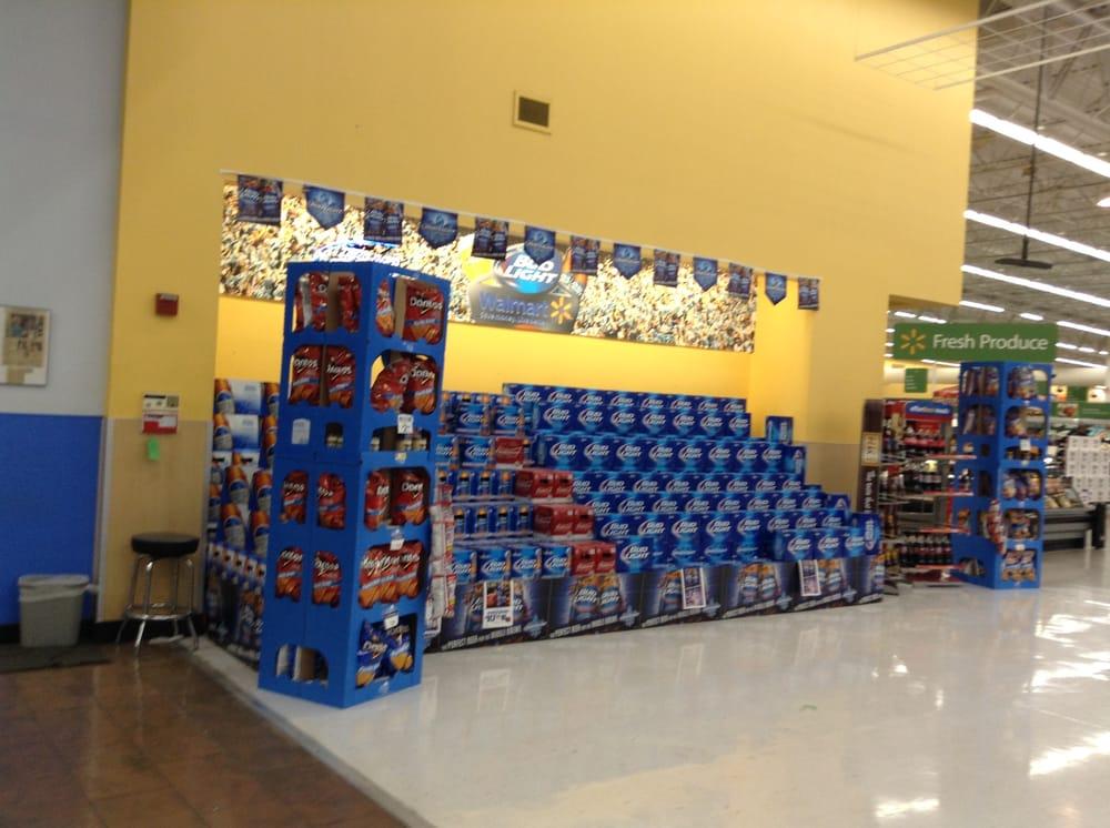 Marvelous Photo Of Walmart Supercenter   Alexandria, LA, United States. Tons Of Bud  Light Images