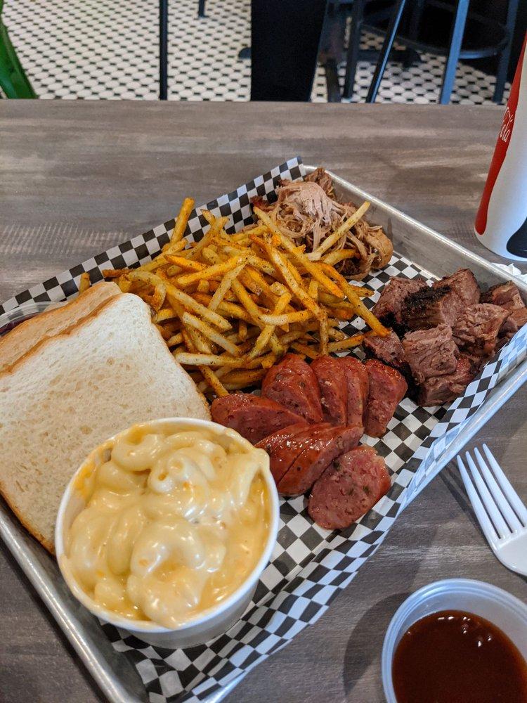 Food from Hard Knox BBQ