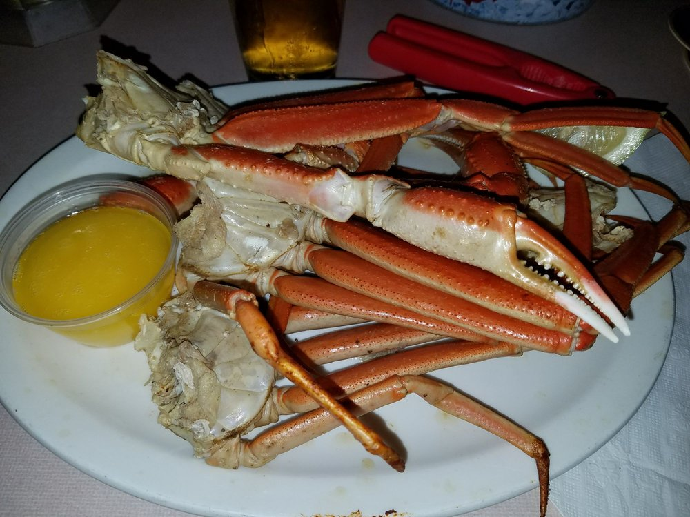 $24 99 (market price) two pounds of delicious snow crab legs
