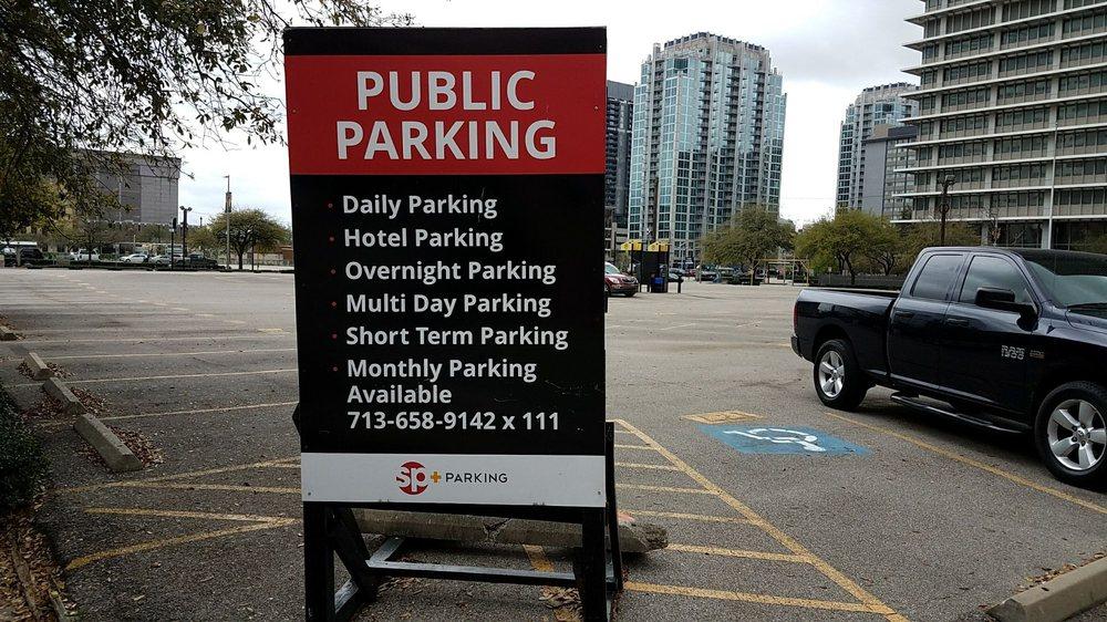 SP+ Parking: 1400 Travis St, Houston, TX