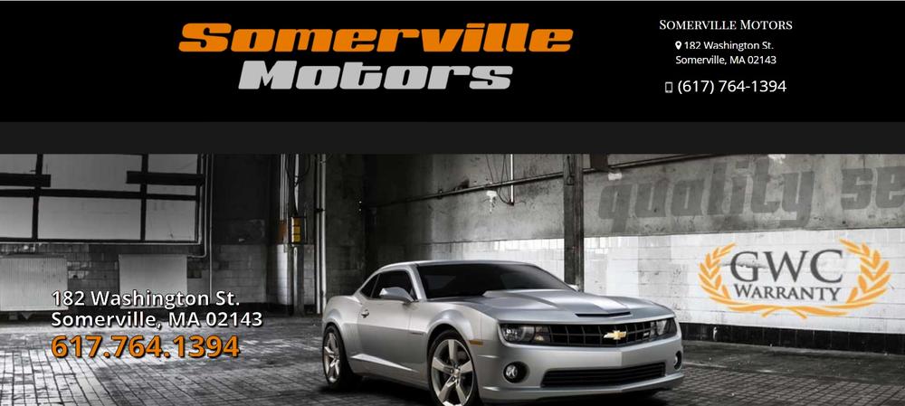 Somerville Motors: 182 Washington St, Somerville, MA