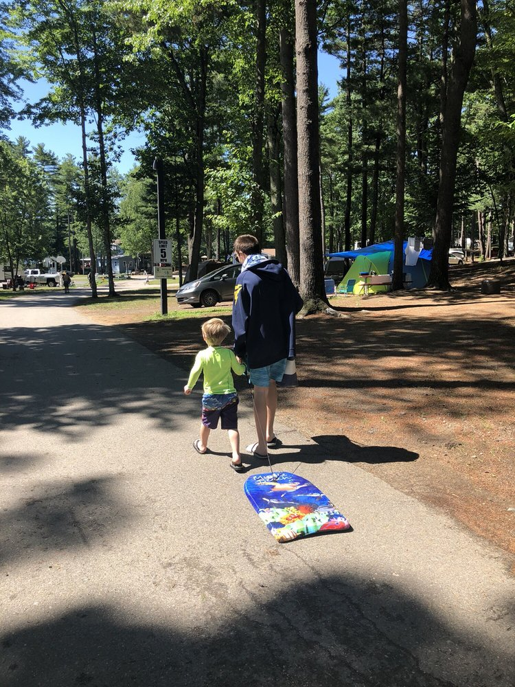 Hid'n Pines Family Campground: 8 Cascade Rd, Old Orchard Beach, ME