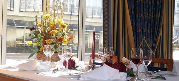 Restaurant Rossini | Strandpromenade 59, 18609 Ostseebad Binz | 038393 57900