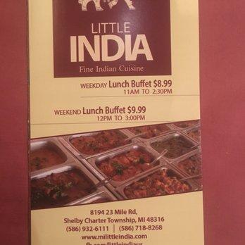 Indian Restaurant Shelby Township Mi