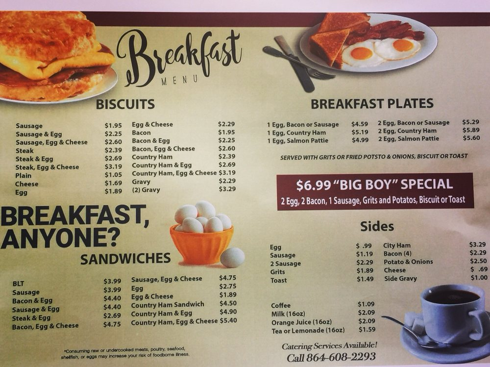 Pearl's Country Cooking & Catering: 409 W Main St, Easley, SC