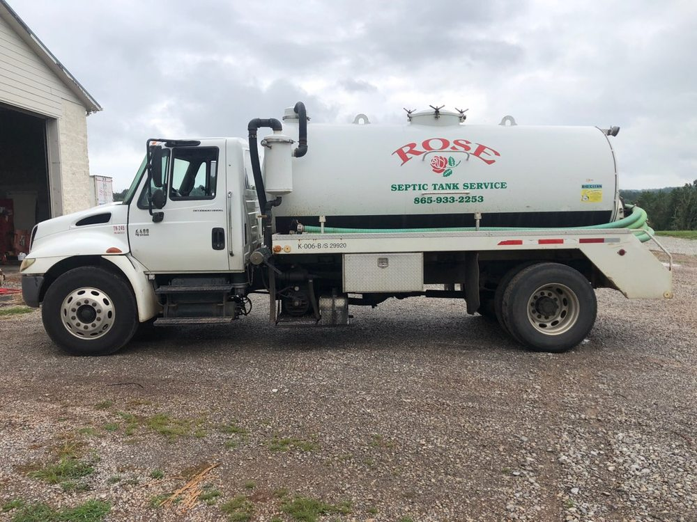 Rose Septic Tank Service: 1203 Mccarty Rd, Knoxville, TN