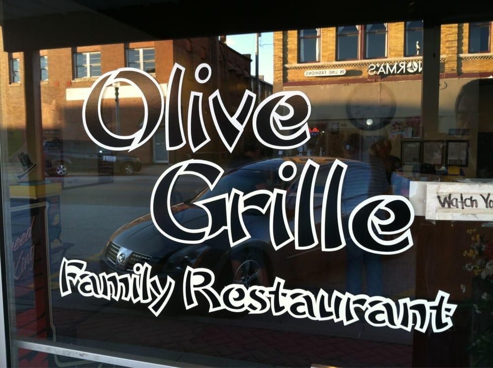Olive Grille: 15 E Olive St, Aurora, MO