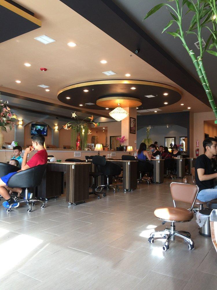 Allure nail bar 64 photos 20 reviews nail salons for 20 lounge nail salon