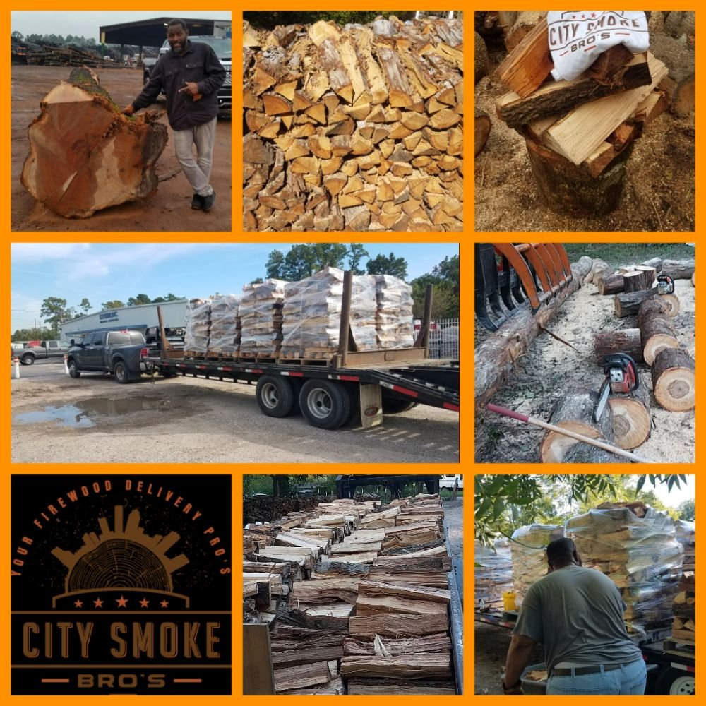 City Smoke Bro's Firewood: 213 W 4th St, Corrigan, TX
