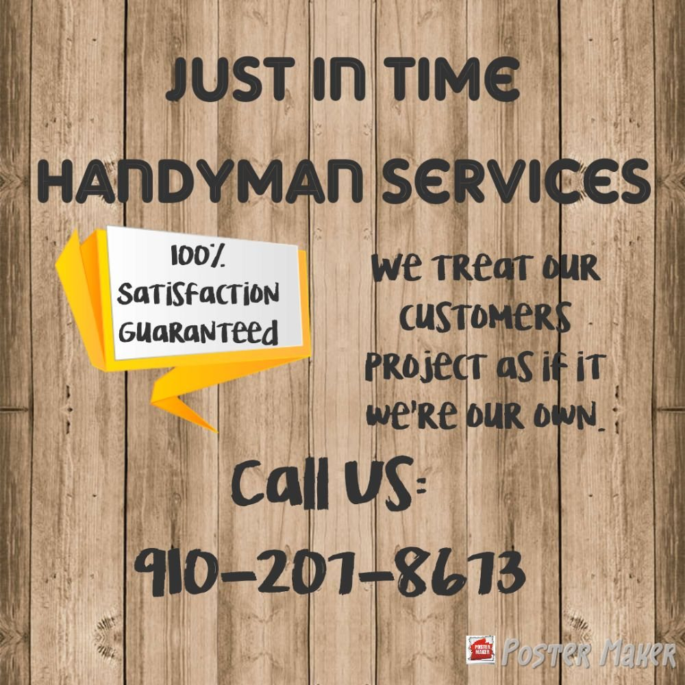 Just In Time Handyman Services: 1404 Pine Log Rd, Whiteville, NC