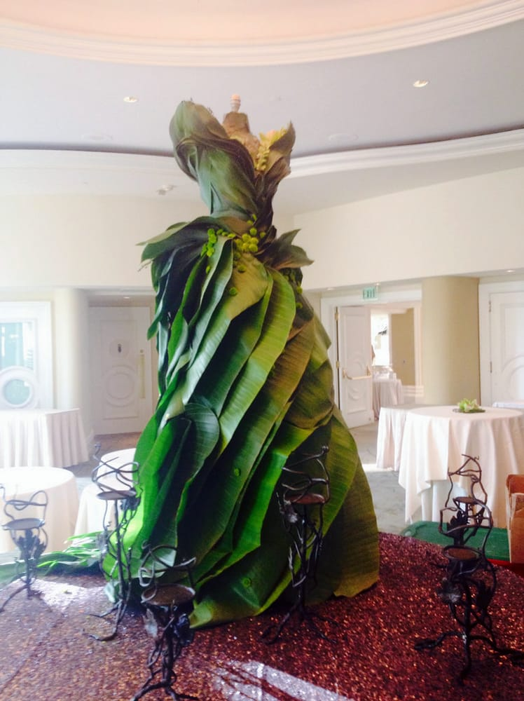 Dress Made Of Leaves