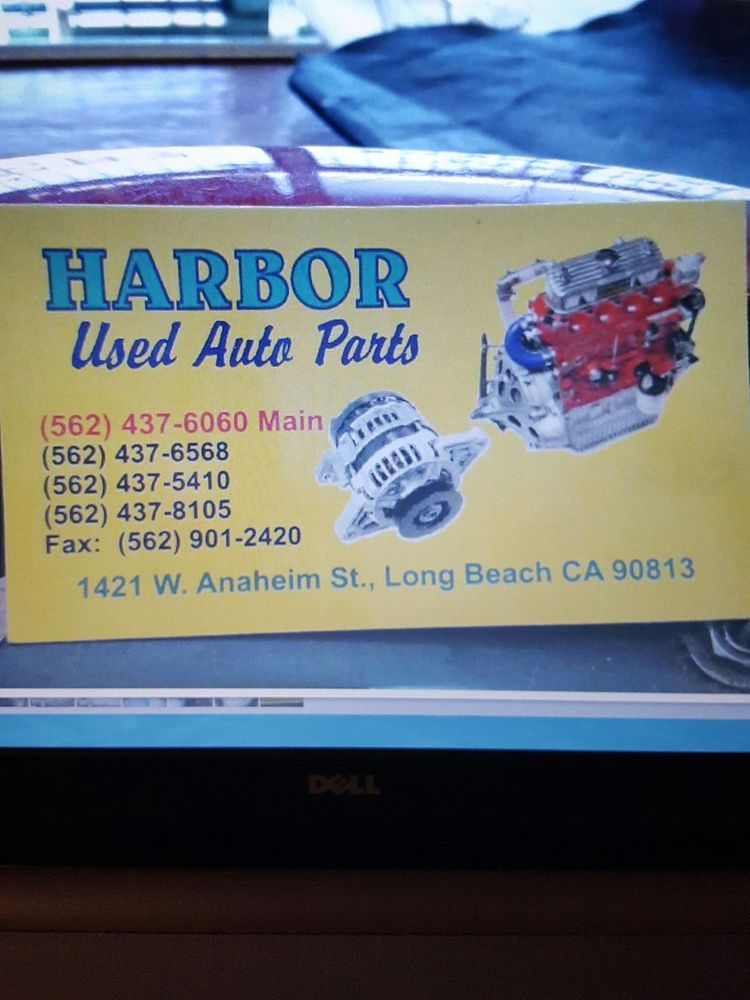 Harbor used auto parts business card yelp photo of harbor auto parts long beach ca united states harbor used reheart Gallery