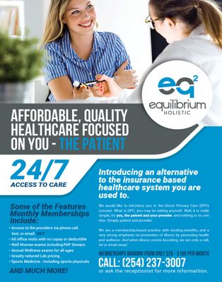 Equilibrium2 Holistic Health - 6270 W Adams Ave, Temple, TX