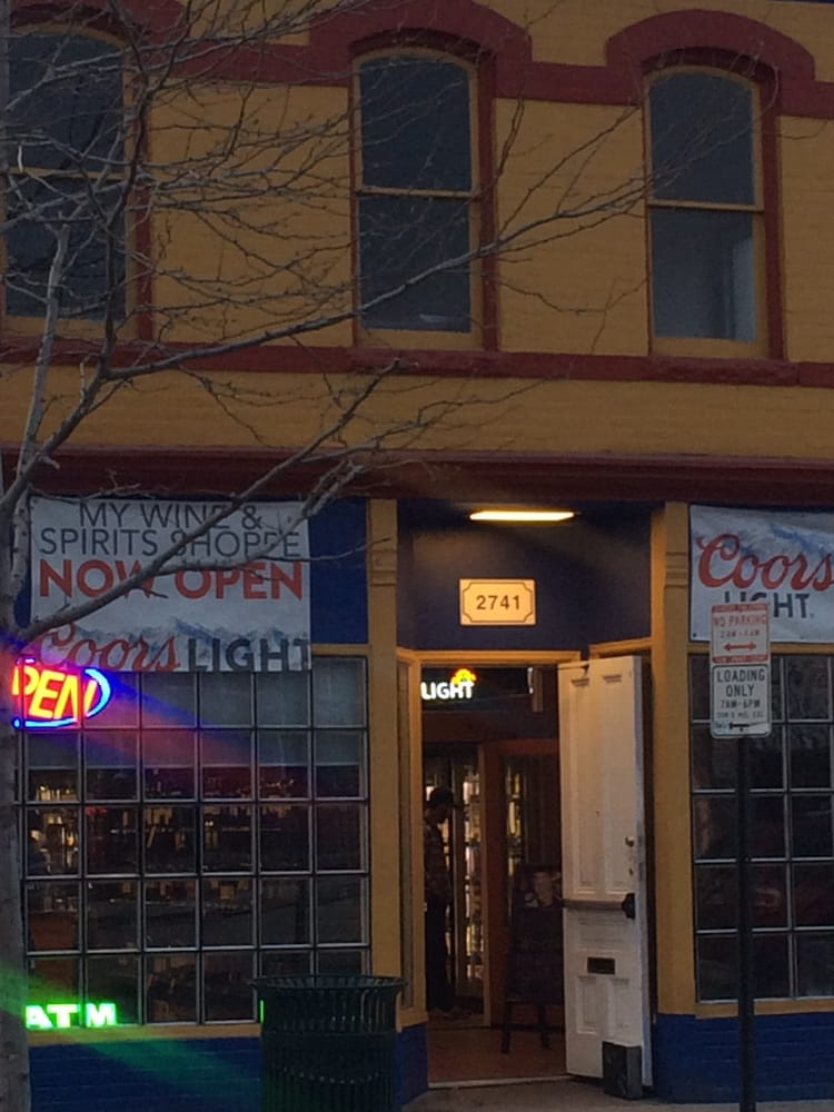 My Wine & Spirits Shoppe: 2741 Welton St, Denver, CO