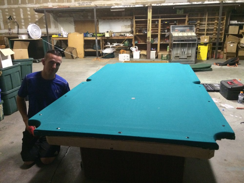 Some Companies Will Say They Can Move A Pool Table But If It Gets - Pool table moving service