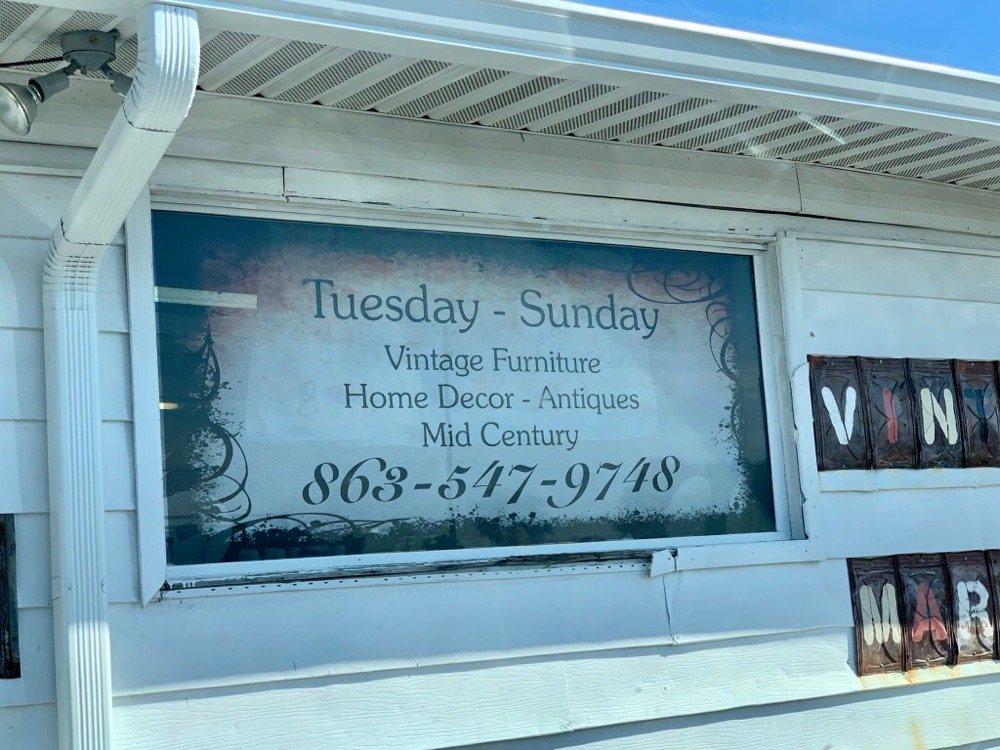 Sister's Junktiques: 31549 US-27, Haines City, FL