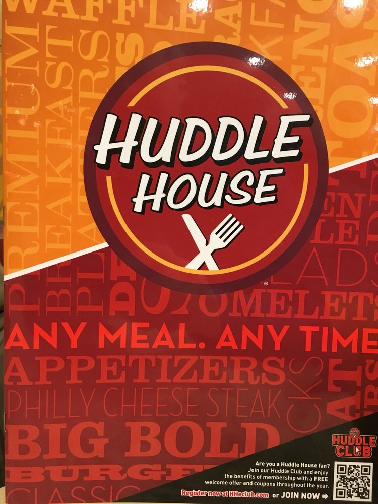 Huddle House: 1407 South Main Street, Blackstone, VA