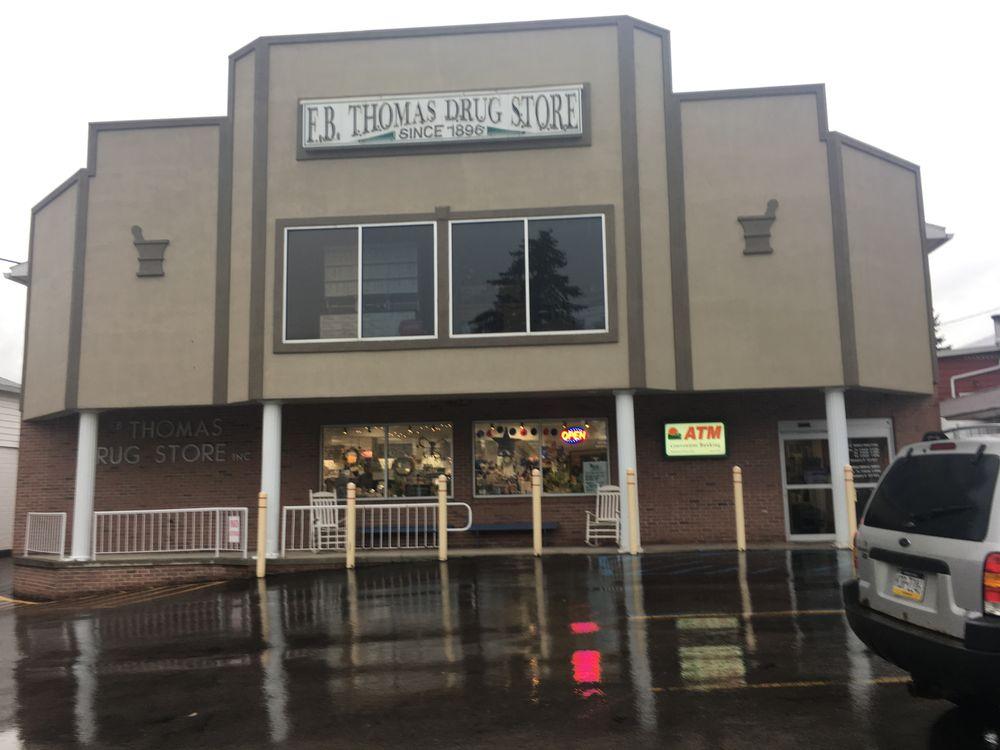 F.B. Thomas Drug Store: 327 Main St, Meyersdale, PA