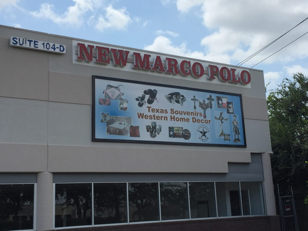 New marco polo decoraci n del hogar 7501 harwin dr for Marco polo decoracion