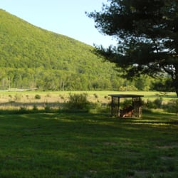 Photo Of Happy Trails Cabin   Wellsboro, PA, United States. A Spacious Front