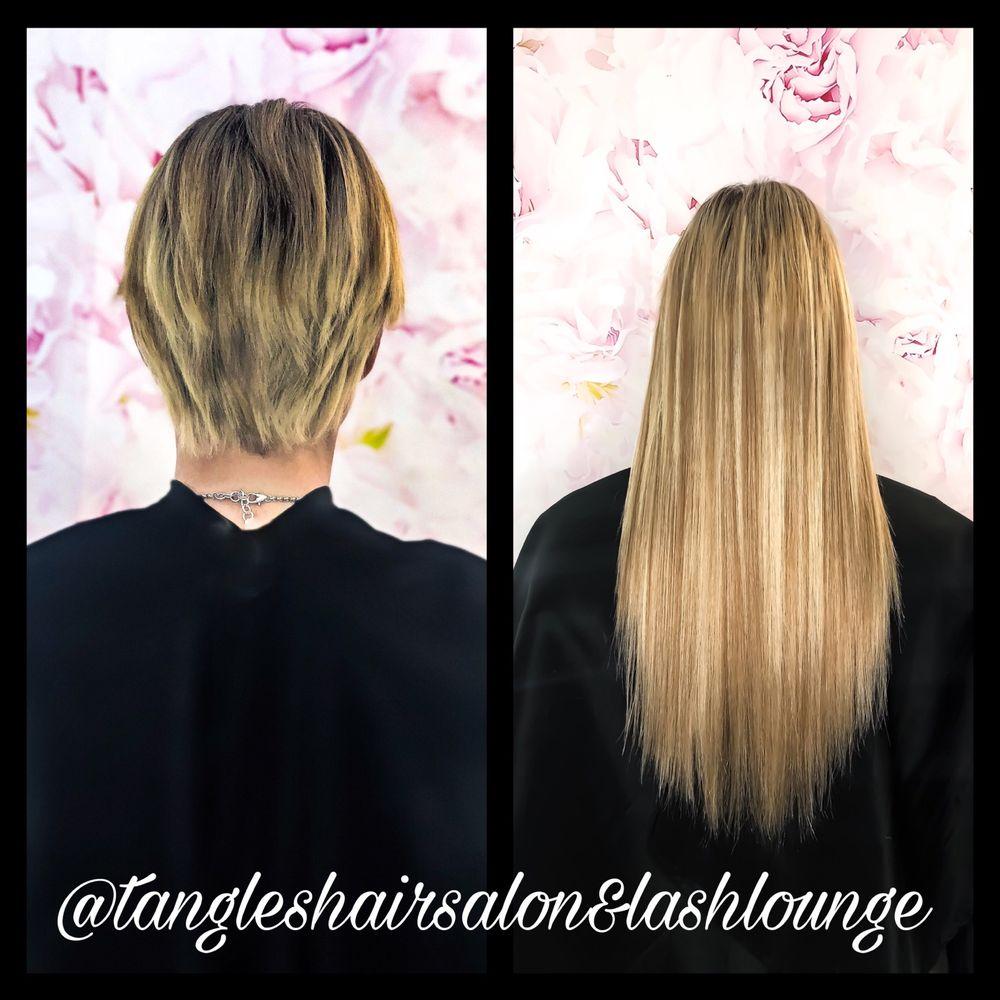 Tangles Hair Salon & Lash Lounge: 406 Pinson Rd, Forney, TX