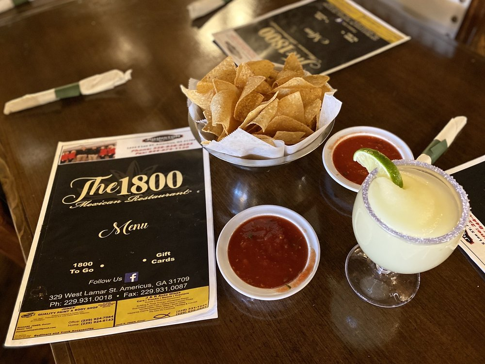 The 1800 Mexican Restaurant: 329 W Lamar St, Americus, GA