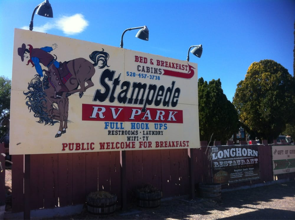 Stampede Rv Park 12 Reviews Rv Parks 201 W Allen St