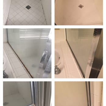 photo of regrout systems long beach ca united states before and after
