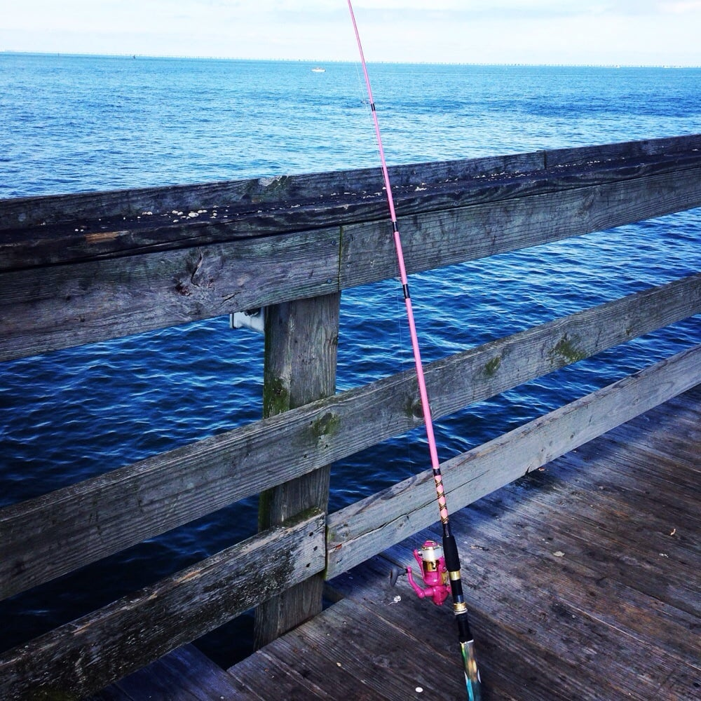 Yes my pink pole yelp for Fishing piers in va