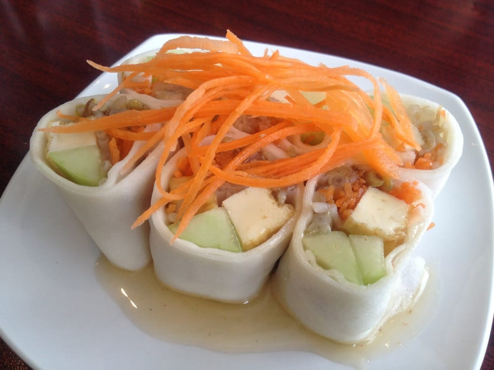 Fresh spring rolls yelp for Aroy thai cuisine