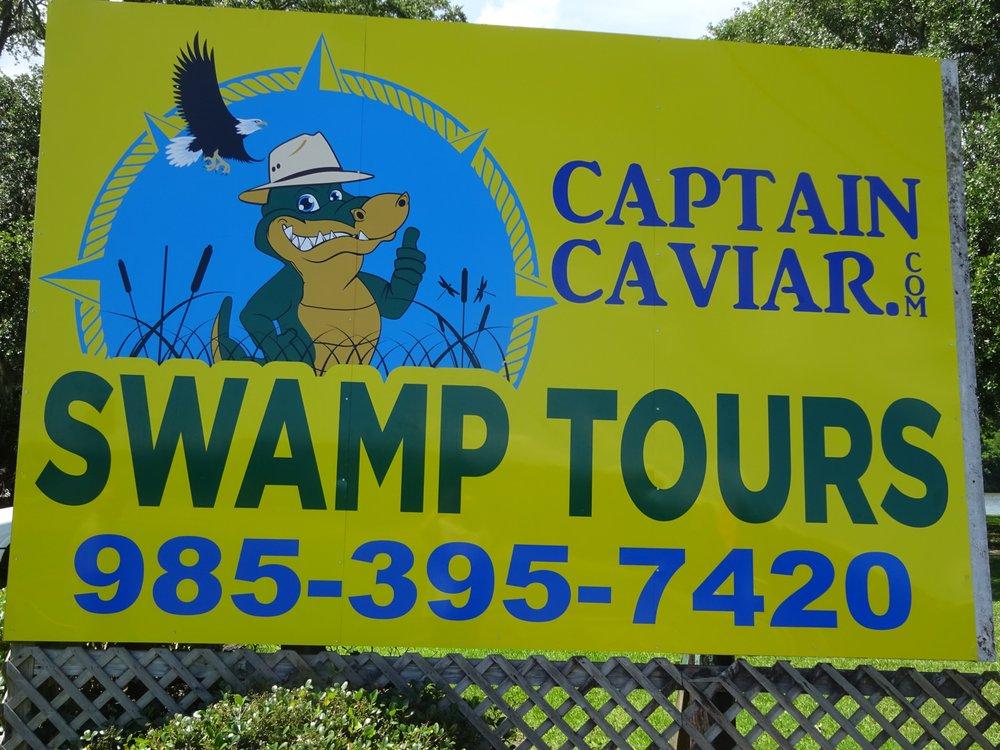 Captain Caviar Swamp Tours: 112 Main St, Patterson, LA