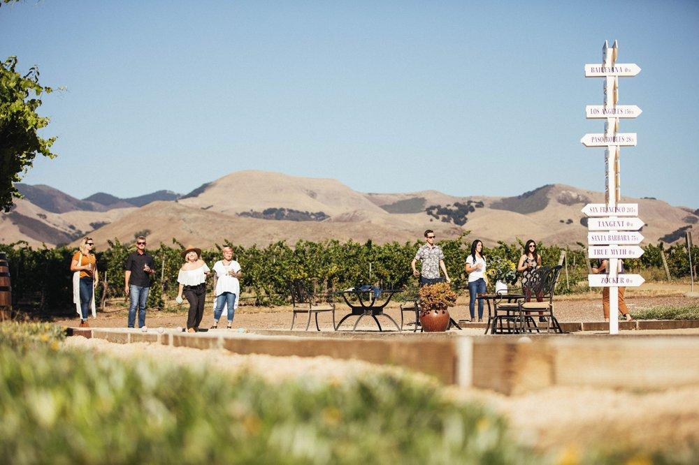 Baileyana, Tangent & True Myth Tasting Room: 5828 Orcutt Rd, San Luis Obispo, CA