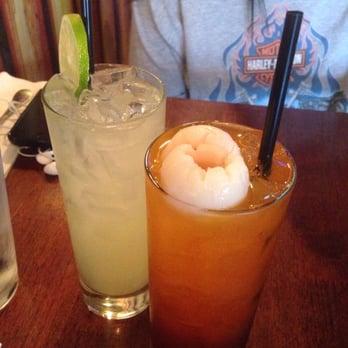 ... Thai - New York, NY, United States. Left: Lemonade Right: Lychee Thai