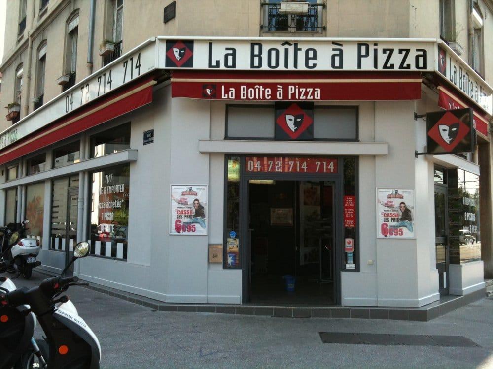 la bo te pizza pizza 77 avenue berthelot jean mac lyon france restaurant reviews. Black Bedroom Furniture Sets. Home Design Ideas
