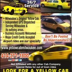 Photo Of Yellow Cab Milwaukee Wi United States Ad