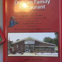 Photo Of Duncan Family Restaurant Sc United States This Is A