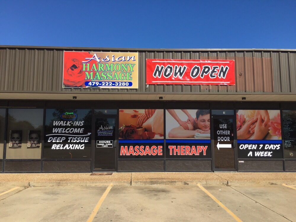 Asian Harmony Massage: 607 S Pocola Blvd, Pocola, OK