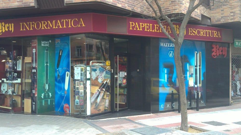 Papeler a rey material de oficina avenida de ciudad de for Material oficina barcelona