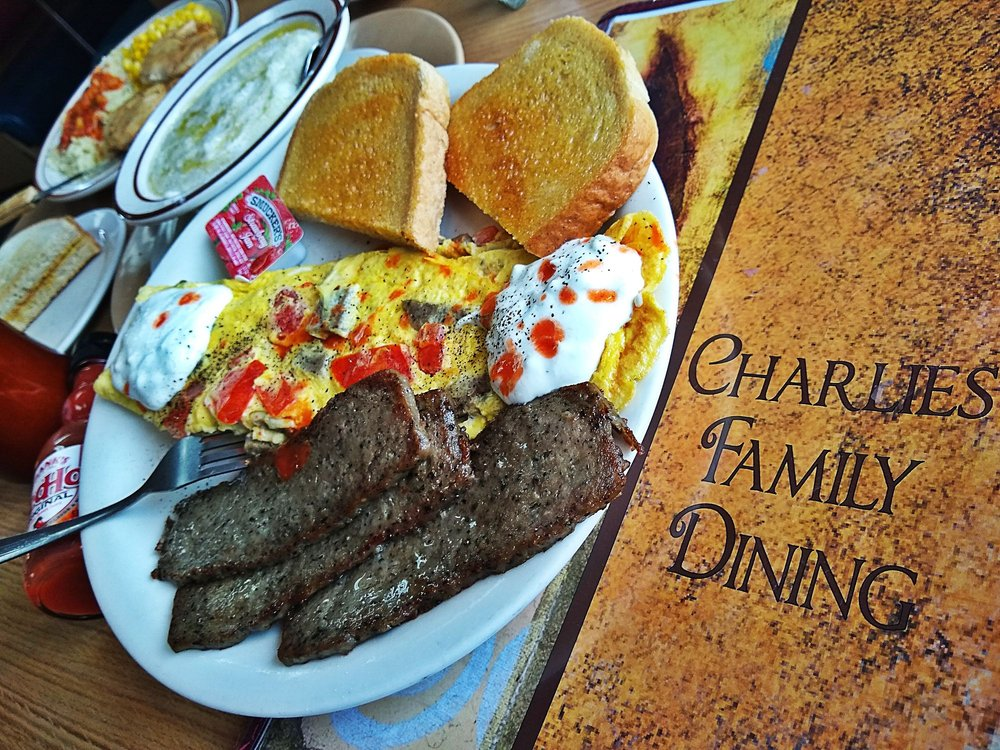 Charlie's Family Dining: 1817 Dix Hwy, Lincoln Park, MI