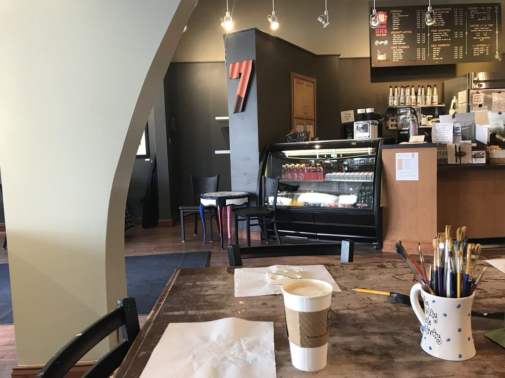 Square Seven Coffee House: 150 W Main St, Lancaster, OH
