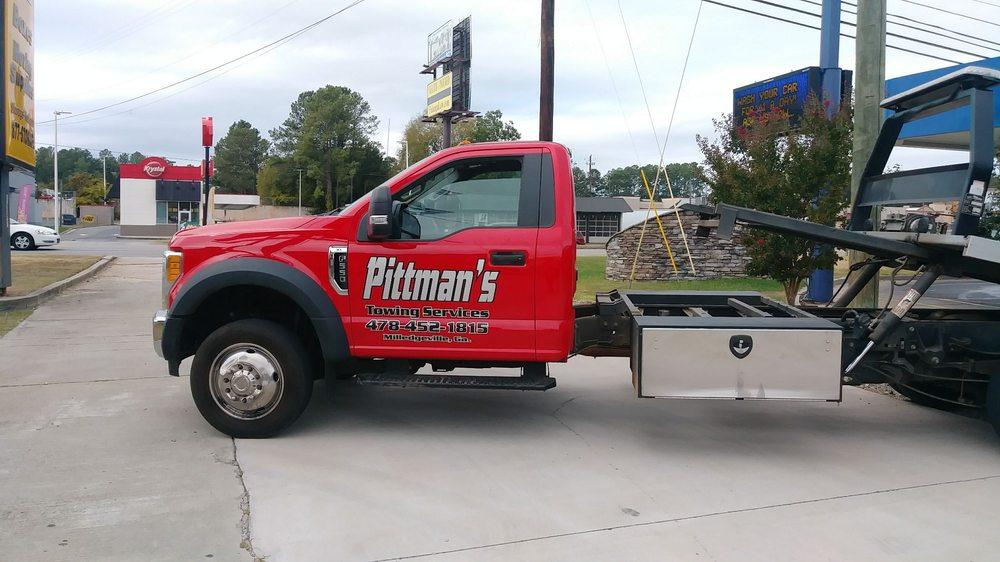 Pittman's Towing: 1421 W Hancock St, Milledgeville, GA