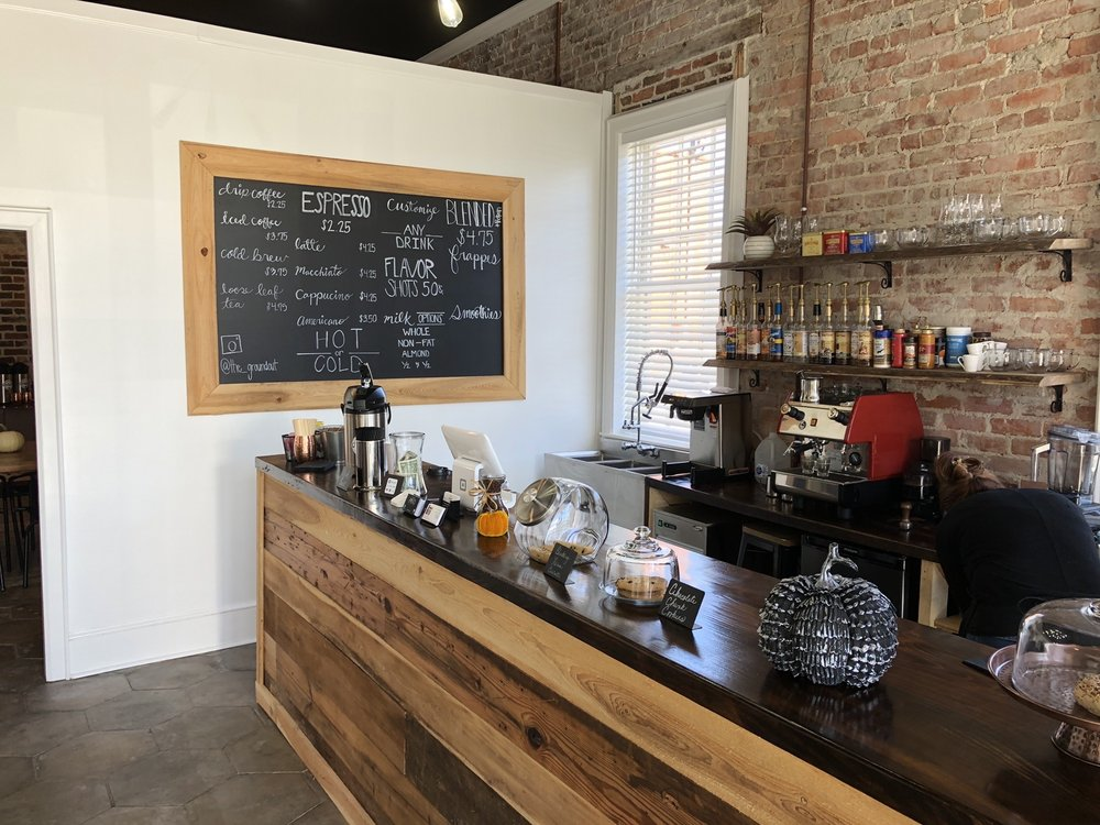 The Groundout Coffee Bar: 109 Arch St, Marion, SC