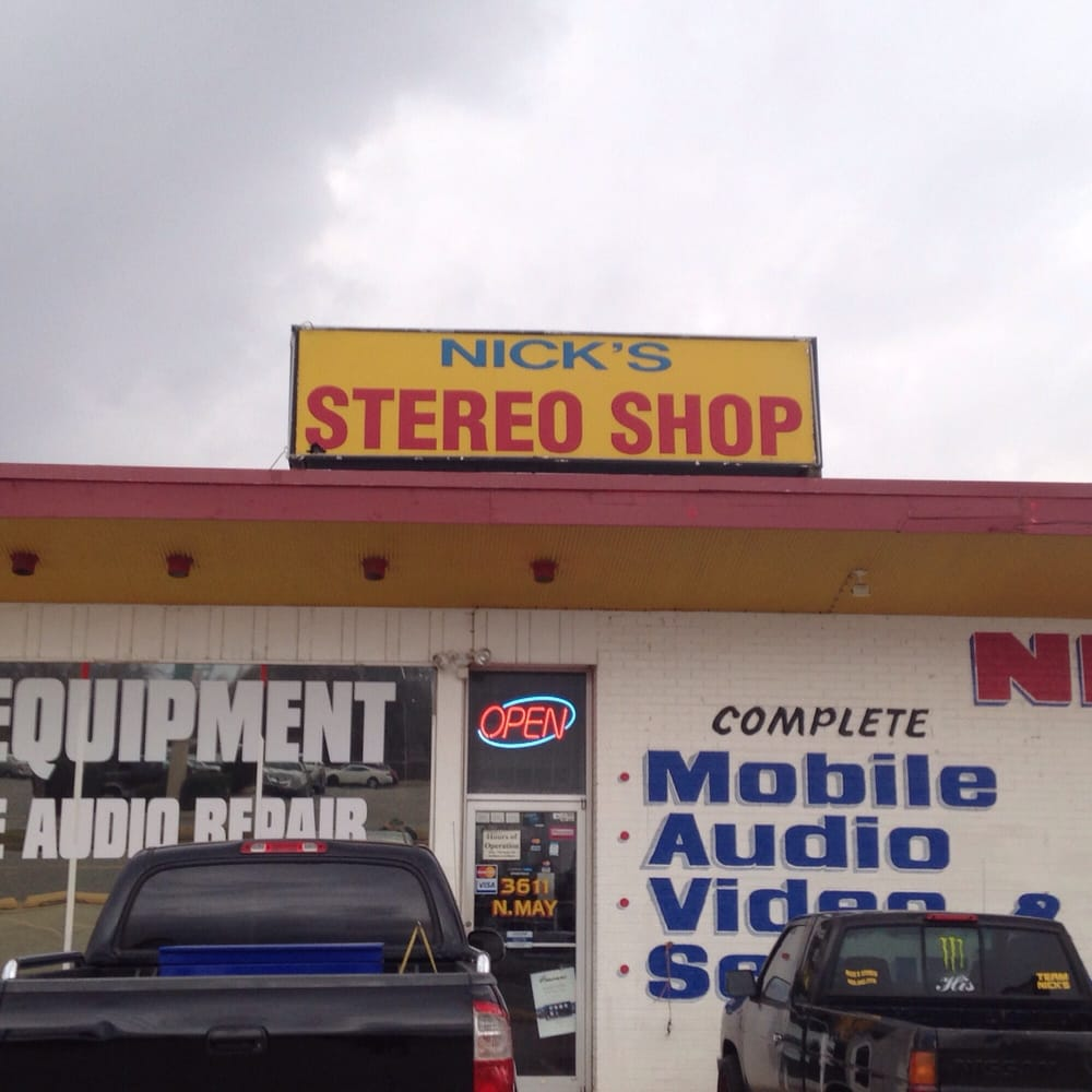 Nick's Stereo Shop