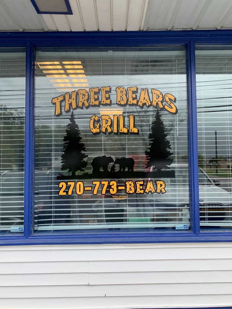 Three Bears Grill: 409 S Dixie Hwy, Cave City, KY