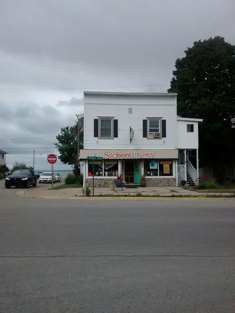 Jackleens Jems: 164 S Benzie Blvd, Beulah, MI