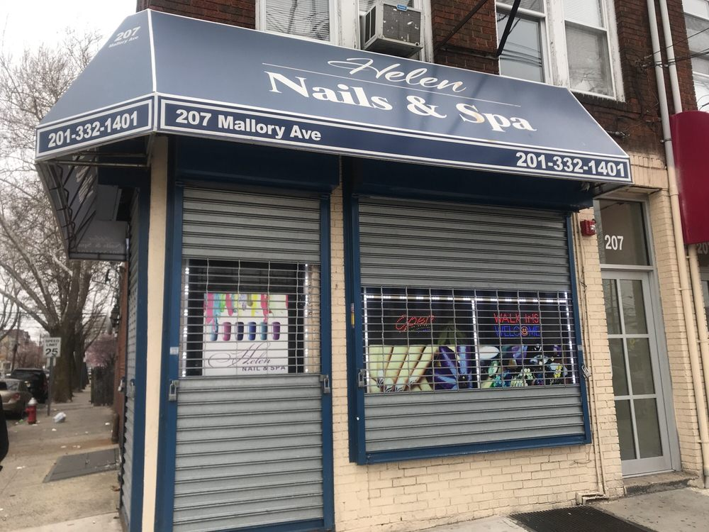Photo of Helen Nail's & Spa - Jersey City, NJ, United States. CLOSED ON A SUNDAY!!! YELP got it wrong this time!